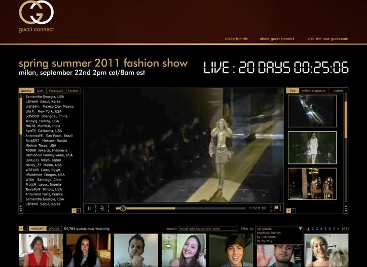 The Gucci site.