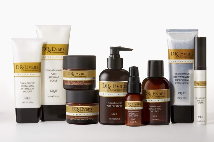 Dr. Evans Cosmeceuticals products.