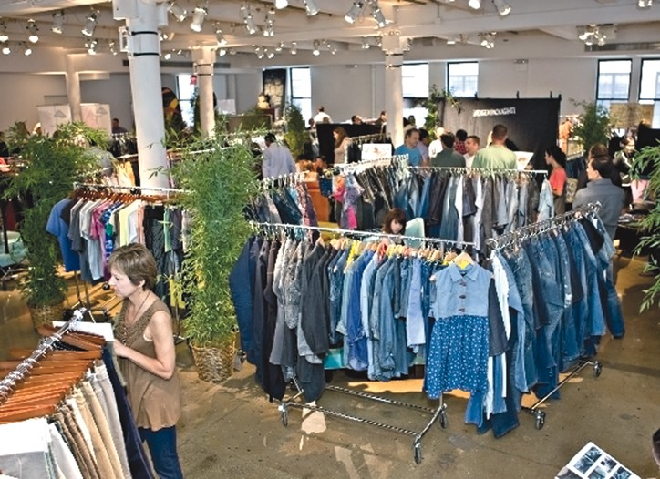 Visitors from about 180 companies attended the Kingpins denim show in New York.