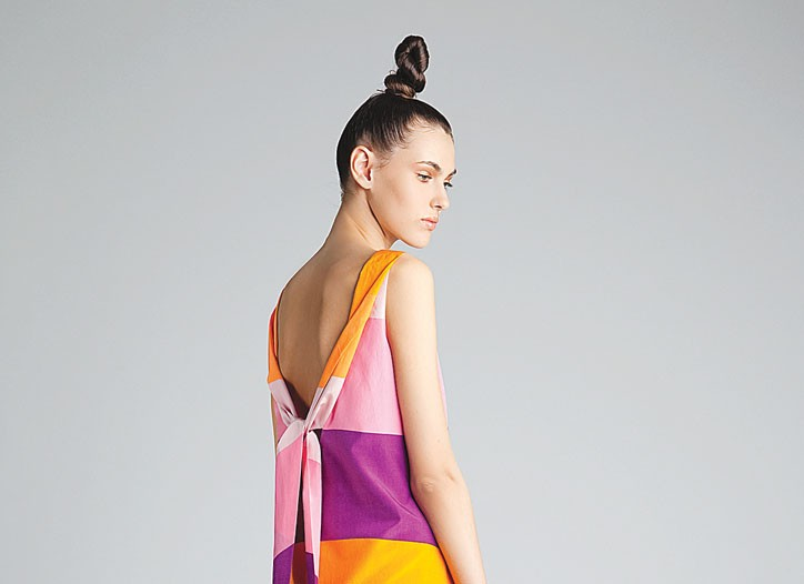 A summer look from Marimekko.