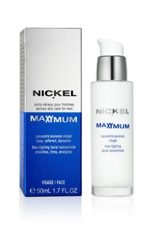 Nickel's Time-Fighting Facial Concentrate.