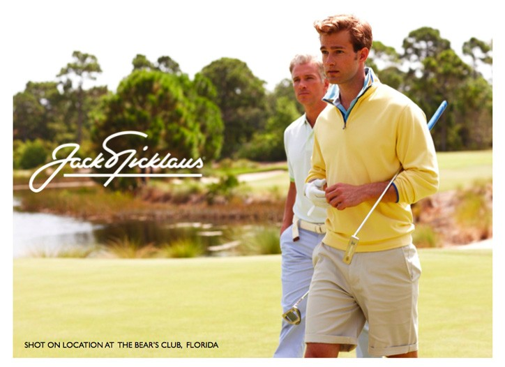 Images from Jack Nicklaus' spring campaign.