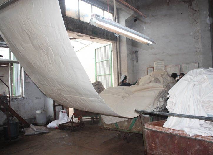 The Jiangsu Redbud Textile Co. in China participated in NRDC's audit and put the best practices to the test.