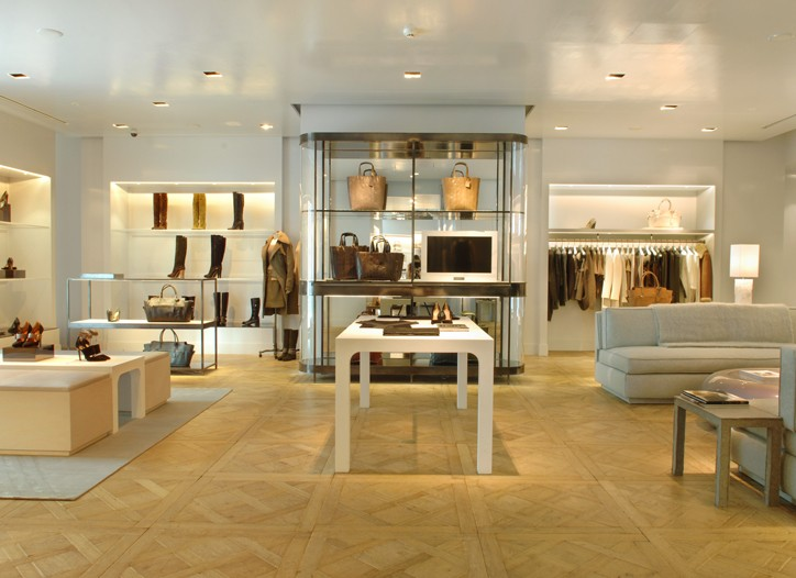The new Reed Krakoff store in Tokyo.