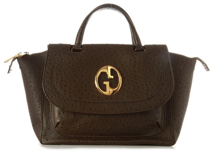Gucci ostrich 1973 bag