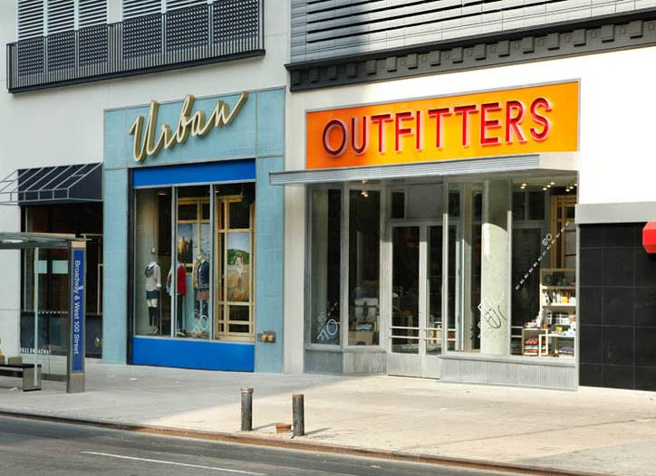 Urban Outfitters Upper West Side store.