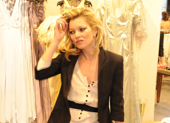 Topshop will offer capsule Kate Moss collections after Oct. 25.