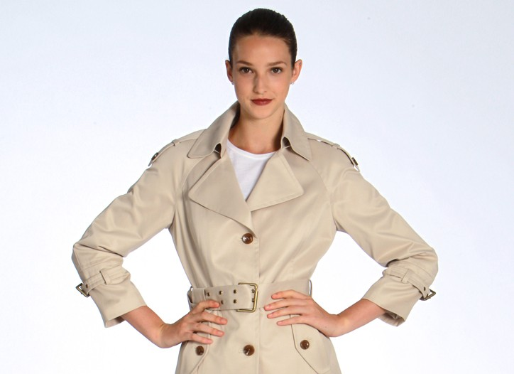 Marc New York's cotton twill trench, $148.