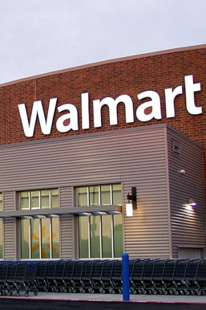 Wal-Mart's share of the apparel business is growing.