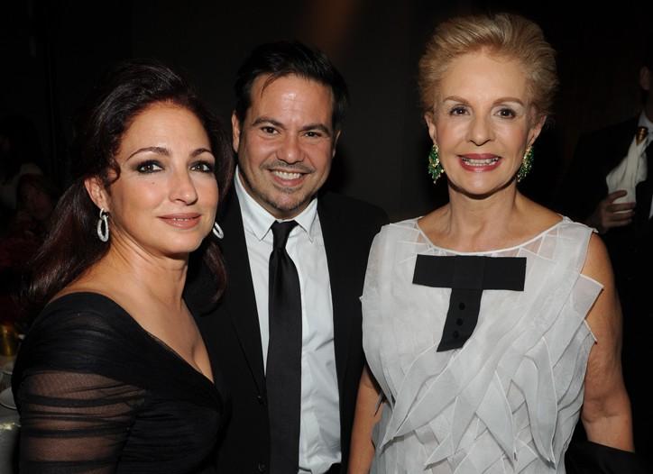 Gloria Estefan, Narciso Rodriguez and Carolina Herrera