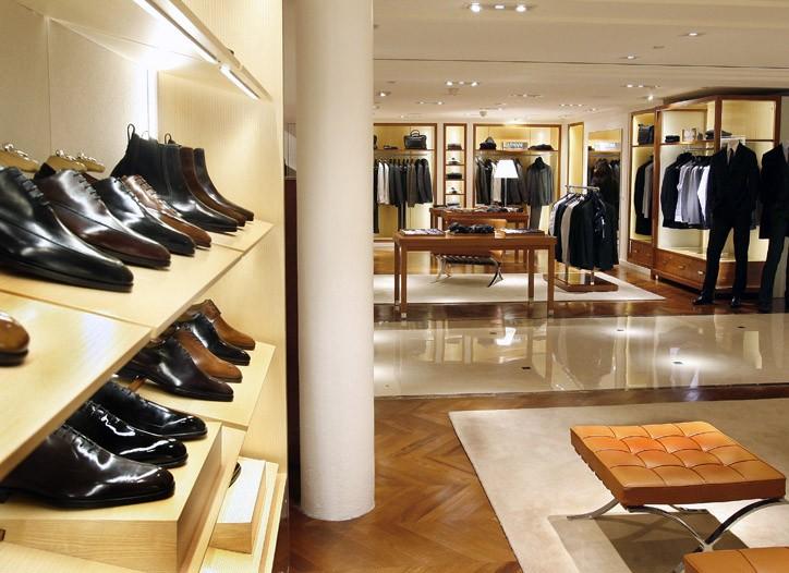 Le Bon Marche's new men's wear department, Balthazar.