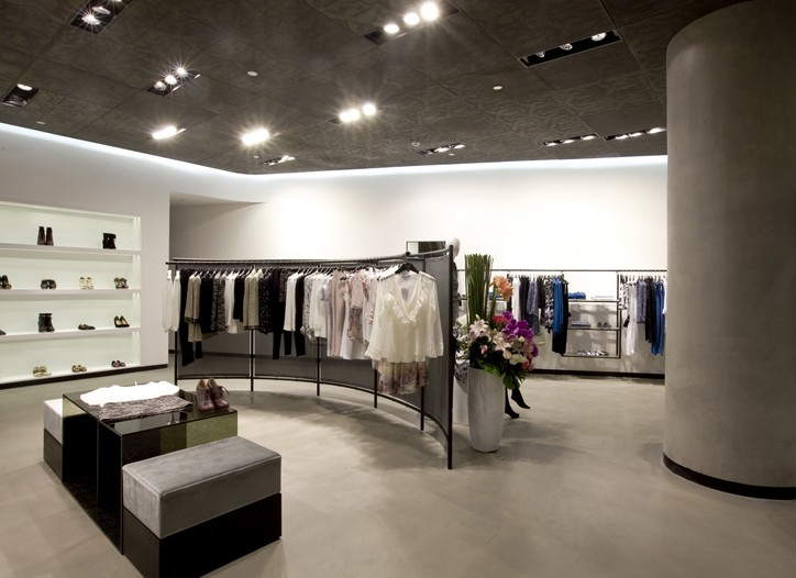 The Charlotte Ronson boutique at Shanghai's IFC mall.