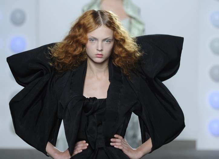 A look from Corrie Nielsen's spring 2011 collection