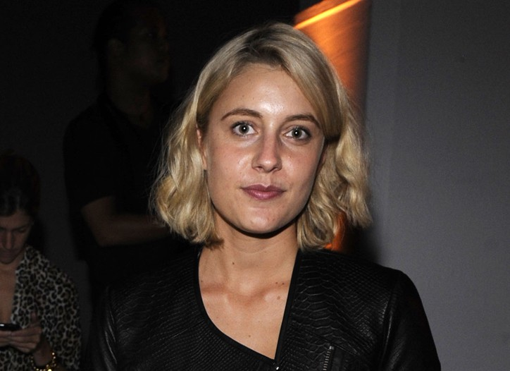 Greta Gerwig in Yigal Azrouël.
