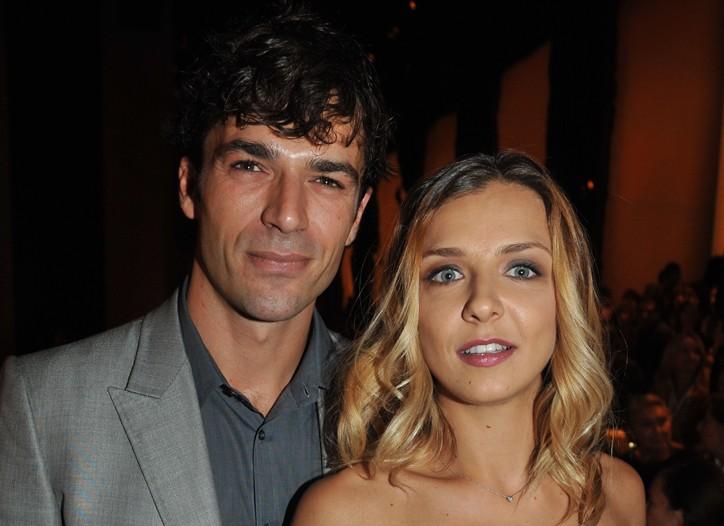 Luca Argentero and Myriam Catania