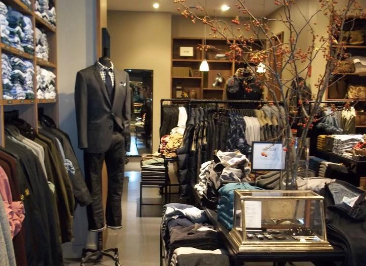 J. Crew men's store in Boston.
