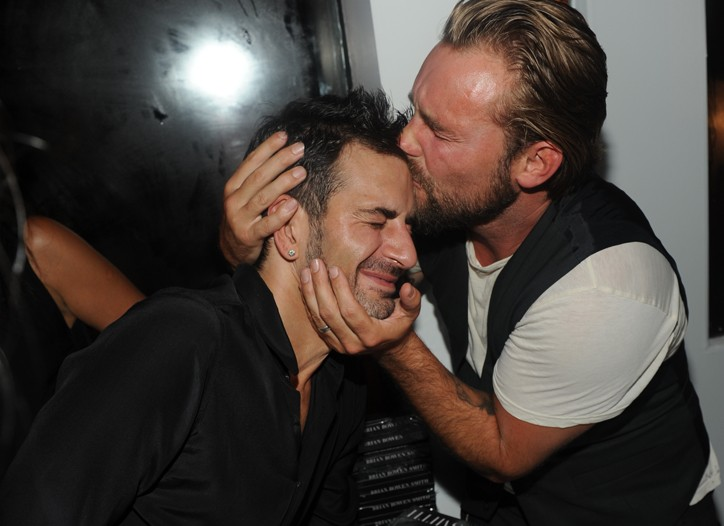 Marc Jacobs and Brian Bowen Smith