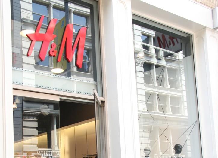 H&M's margins saw a slight decrease in the quarter.