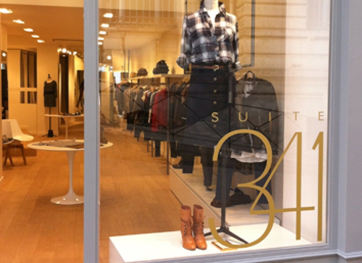 Groupe SMCP's new Suite 341 concept store in Angoulême, France.