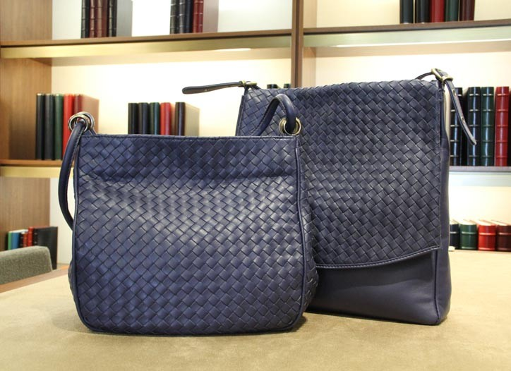 Soft leather bags are bestsellers.