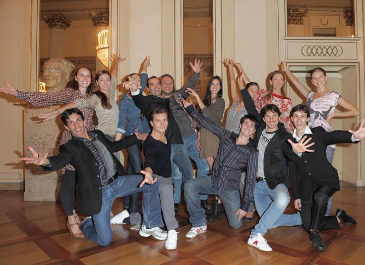 Ballerinas at Teatro La Scala