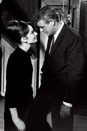 """Audrey Hepburn eyes up Cary Grant in Charade and voices her view: """"Do you know what's wrong with you?"""" she asks. """"No, what?"""" he replies. """"Nothing,"""" she says. Then again, there was only one Cary Grant."""