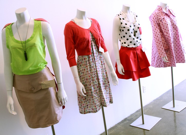 Colors and prints dominated at Designers & Agents.