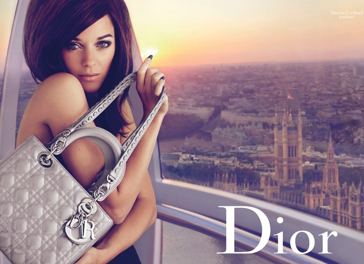The Christian Dior campaign featuring Marion Cotillard.