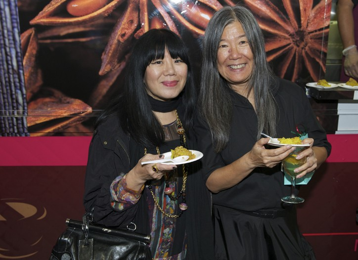 Anna Sui and Yeohlee Teng