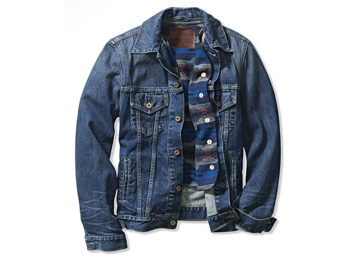 A Levi's jacket with Pendleton lining.
