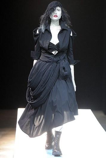 Yohji Yamamoto RTW Spring 2011