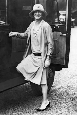 Coco Chanel in 1928.