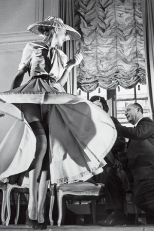 Christian Dior on Avenue Montaigne, 1948.