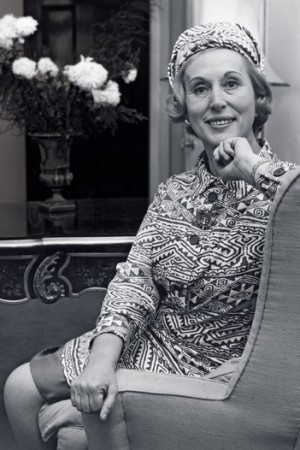 Estée Lauder in 1961.