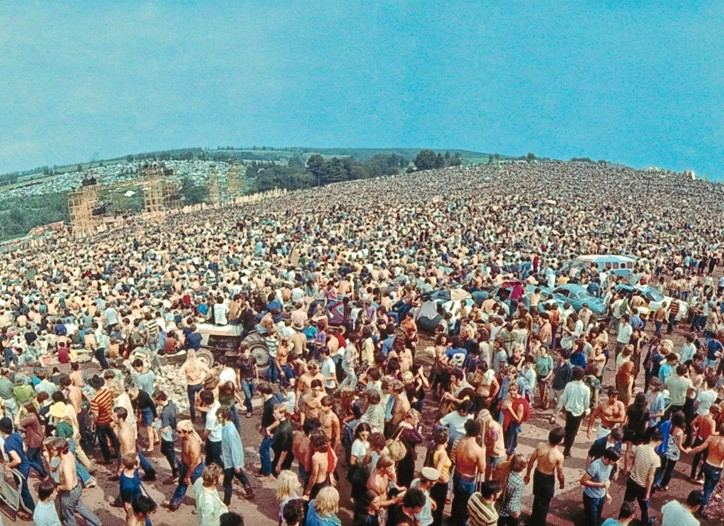 The Woodstock Festival.