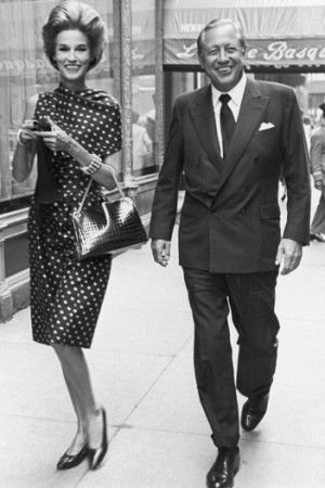 Babe and Bill Paley in 1965.