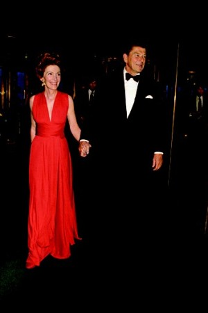 Nancy and Ronald Reagan in 1973.