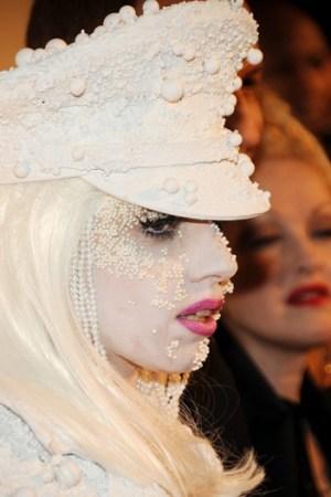 Lady Gaga in 2010.