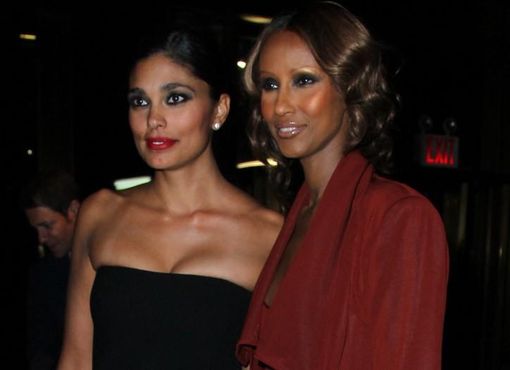 Rachel Roy and Iman