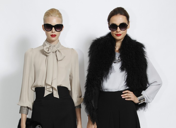 A look from the fall 2011 Vince Camuto collection.