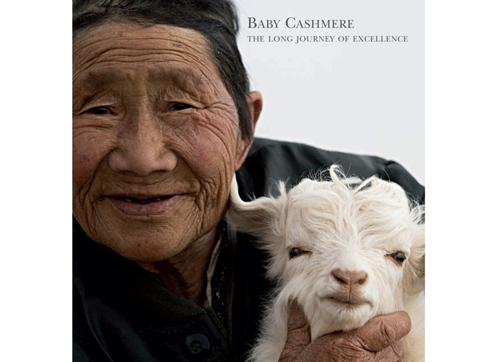 The book on Loro Piana baby cashmere.