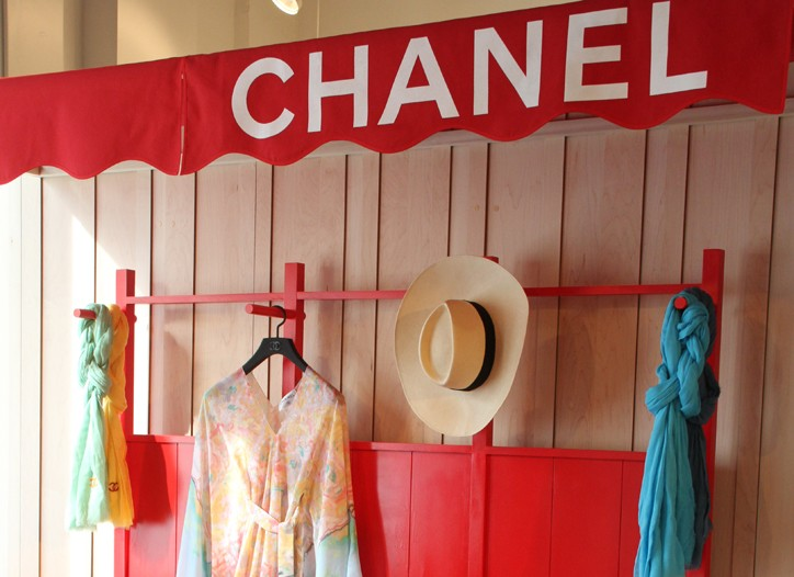 The new Chanel pop-up store at Jeffrey New York.