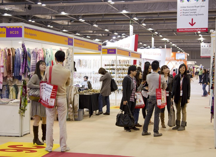 Shopping the China Sourcing Fair.