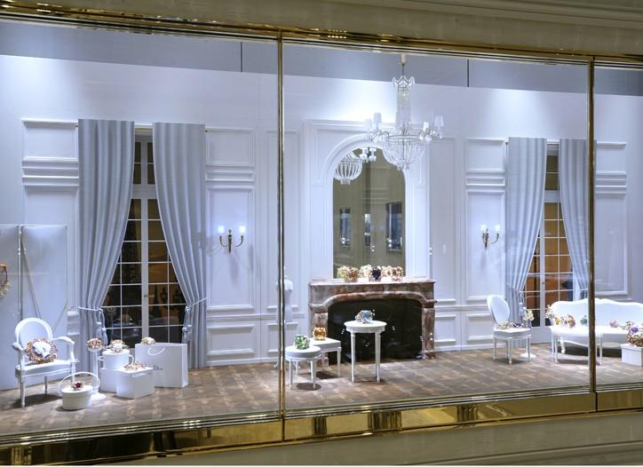 Dior jewelry store in Place Vendôme.