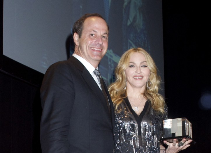 Neil Cole and Madonna