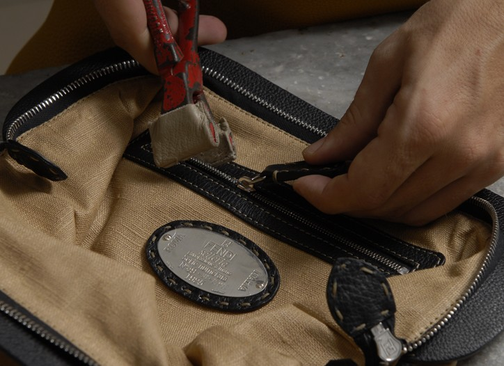 Images from Fendi's new directory of Italian craftsmanship.