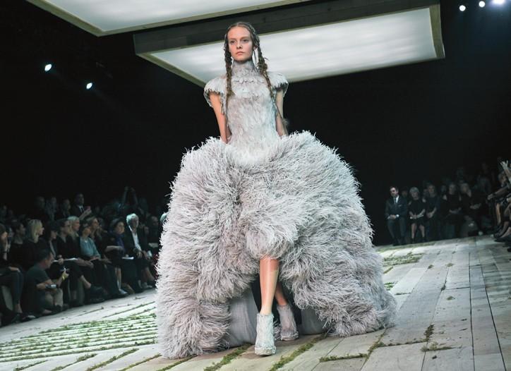 Sarah Burton's collection for Alexander McQueen.