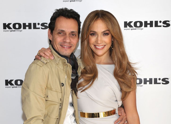 J.Lo and Marc Anthony