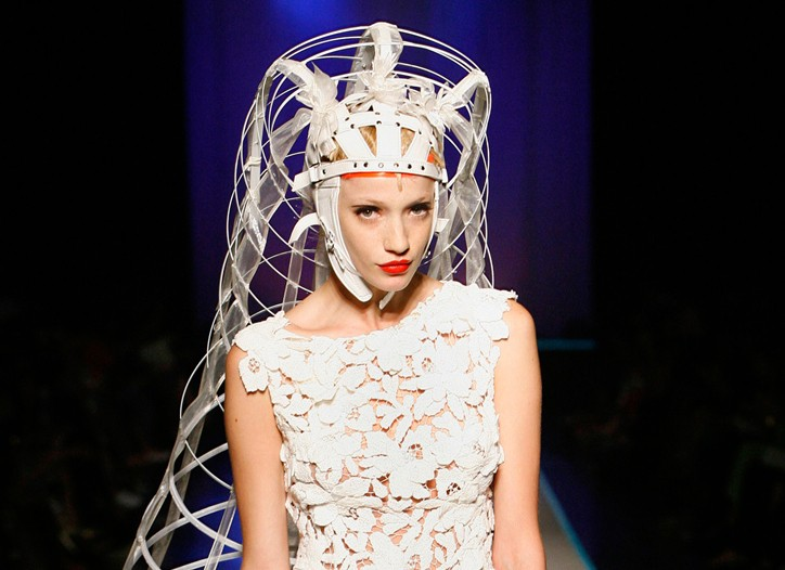 A look from Jean Paul Gaultier.