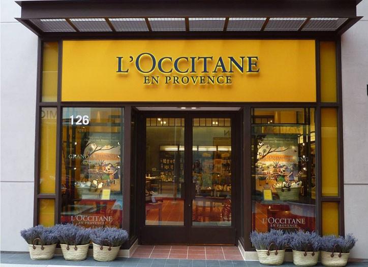 A L'Occitane boutique in Santa Monica, Calif.